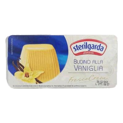 Итальянский ванильный пудинг 2 шт. в упаковке