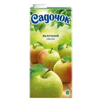 Сок Садочек Яблоко 2 L. מיץ תפוח