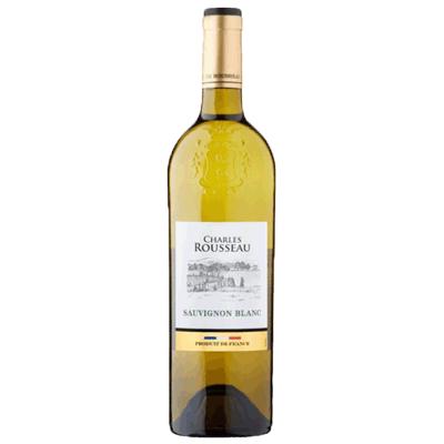 Вино Чарльз Руссо белое сухое 0.75 L. (Франция) יין לבן יבש