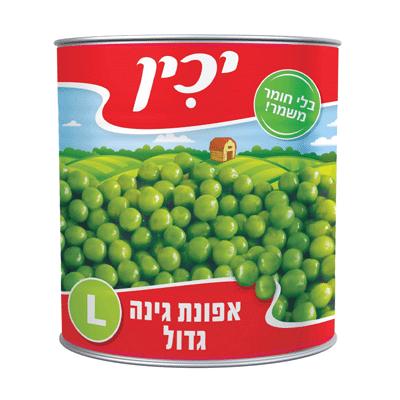 Зеленый горошек ЯХИН
