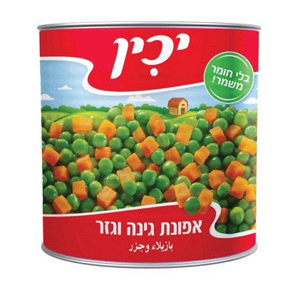 Зеленый горошек и морковь ЯХИН