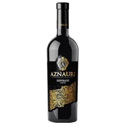 Вино AZNAURI SAPERAVI 0.75 L. יין אדום יבש