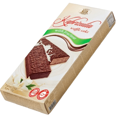 Шоколадно-вафельный торт Капризуля с фруктозой 210 гр.