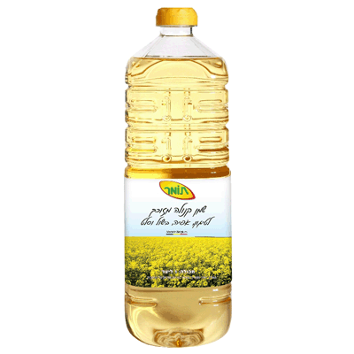 Масло каноловое Томер рафинированное 1 л. שמן קנולה תומר