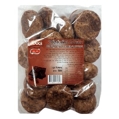 Пряники шоколадные 500 гр. דובשניות שוקולד
