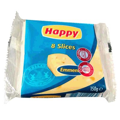 Сыр Эмменталь слайсы 150 гр. גבינה אמנטל