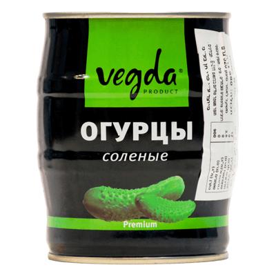 Огурцы соленые Премиум 580 гр. מלפפון פרמיום