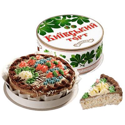 Торт Киевский Рошен 850 гр. עוגה קייבסקיי
