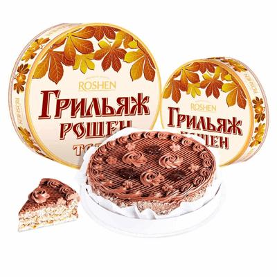 Торт Грильяж Рошен 450 гр. עוגה גריליאז' רושן