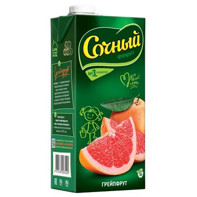 Сок Сочный Грейпфрут 2 л. מיץ אשקולית