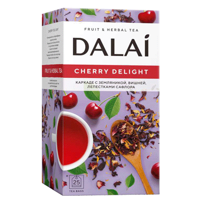 Чай Далай каркаде вишня