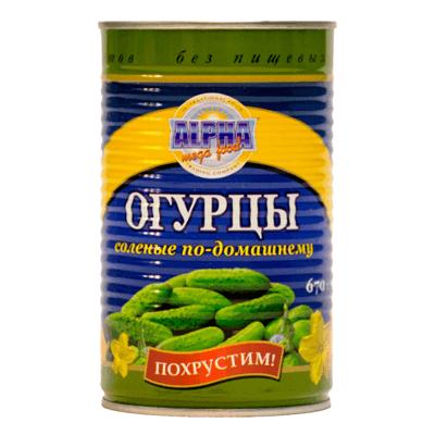 Огурчики соленые по домашнему 7-9 670 гр. מלפפונים במלח
