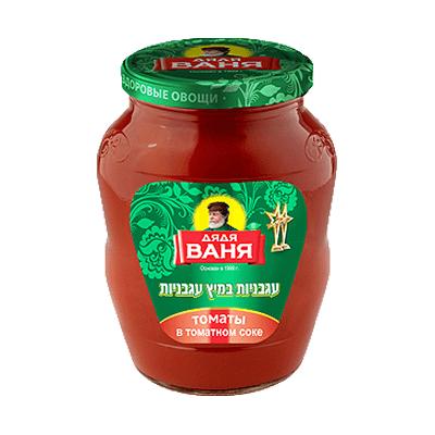 Томаты в томатном соке